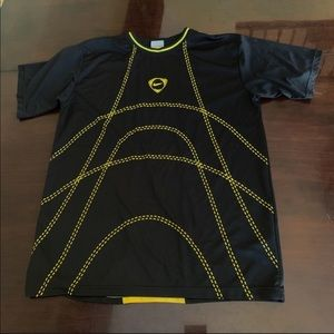 Nike Yellow/Black Short Sleeved Shirt